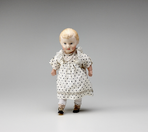 Doll with celluloid head, 1920, inv. no. S 2894-2006